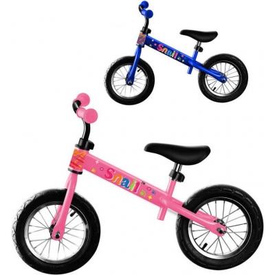 Dětské balanční kolo modré/růžové odrážedlo 2 barvy