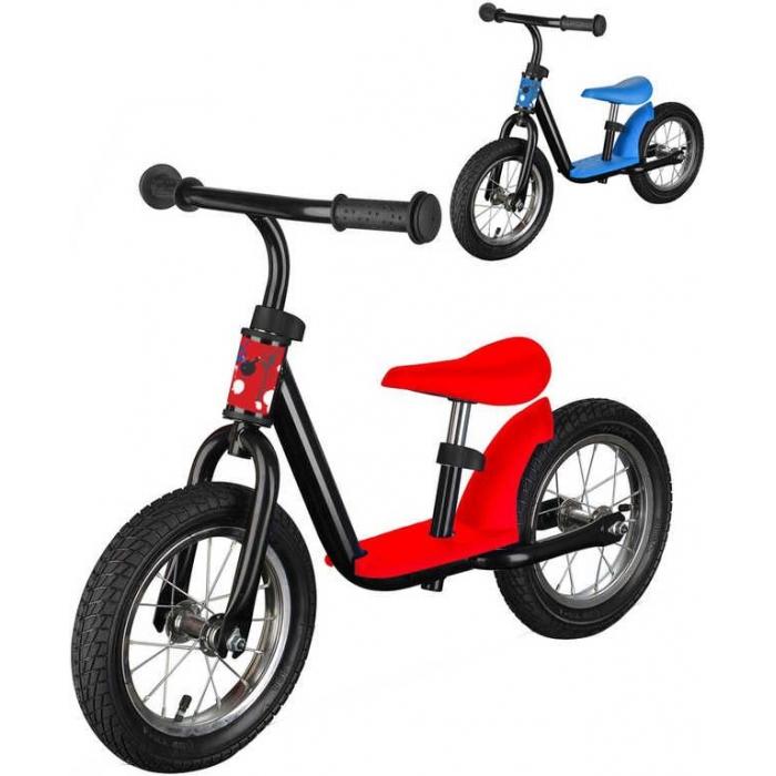 Dětské balanční kolo červené/modré odrážedlo 2 barvy