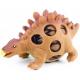 Dinosaurus strečový mačkací míček 5-9cm antistresový bublinový mění barvy