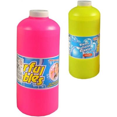 Náplň náhradní do bublifuku 1 litr plastová láhev 2 barvy