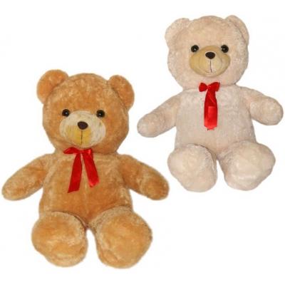 PLYŠ Medvěd velký s mašlí 105cm 2 barvy PLYŠOVÉ HRAČKY