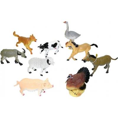 Zvířata domácí (Farma) 14 - 17 cm Figurky zvířátek 9 druhů