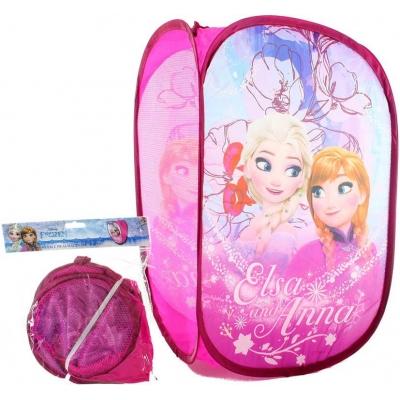 Koš textilní skládací 35x60x35cm box na hračky Frozen (Ledové Království)