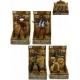 Figurka kovboj / indián 10cm plast 10 druhů v krabičce