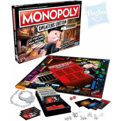 HASBRO HRA Monopoly Cheaters edition CZ SPOLEČENSKÉ HRY