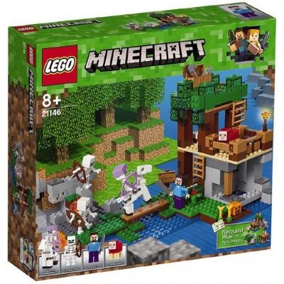 LEGO MINECRAFT Útok kostlivců 21146 STAVEBNICE