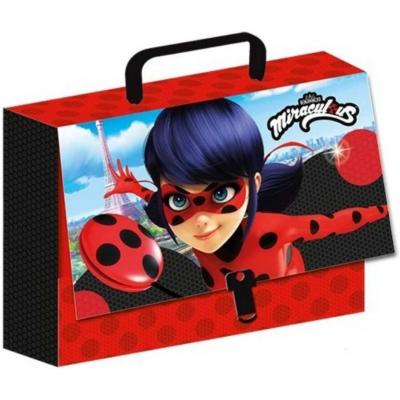 Kufřík dětský Kouzelná beruška a černý kocour I 32x23x7cm holčičí