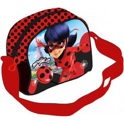 Taška přes rameno Kouzelná beruška a černý kocour dětská kabelka