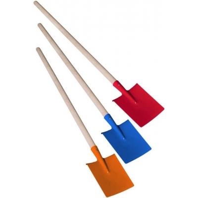 DŘEVO Dětské nářadí pracovní 80cm zahradní rýč kovový 3 barvy