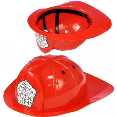 Helma hasičská dětská 29x23cm plastová přilba na hlavu