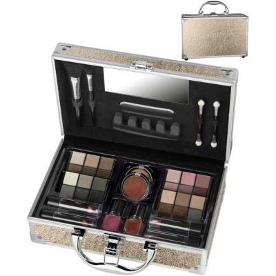 Velký kosmetický kufřík hliníkový VIP Journey Vienna pro mladé slečny
