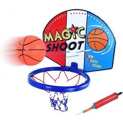 Basketbalový koš na košíkovou trikolora