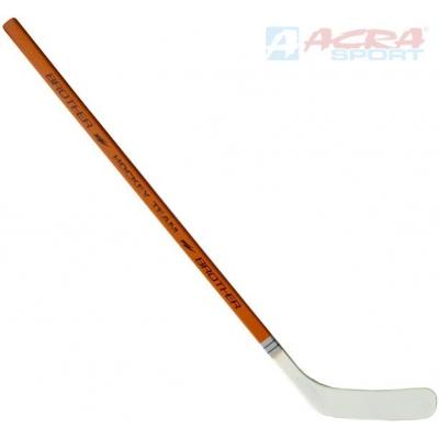 ACRA Hokejka 115cm rovná dřevo+plast BROTHER H3311