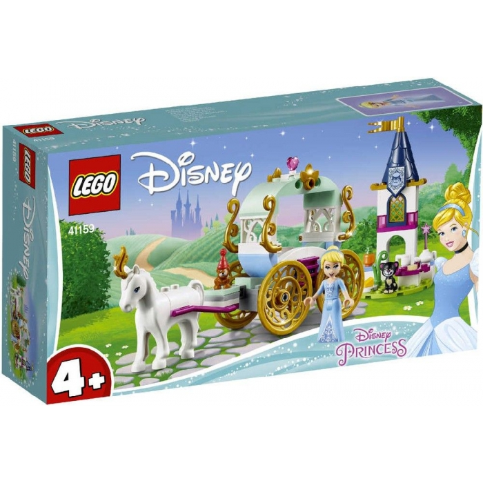 LEGO PRINCESS Projížďka Popelčiným kočárem 41159 STAVEBNICE