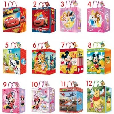Taška dárková 27 x 33cm Disney 12 druhů
