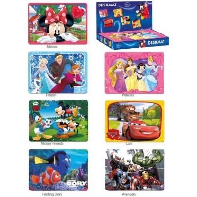 Prostírání dětská podložka s obrázkem 43x30cm Disney 7 druhů