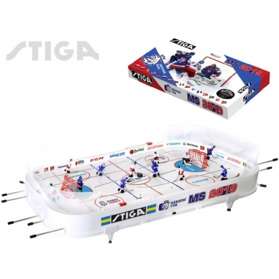 STIGA Hra Hokej stolní s táhly MS 2019 Česko - Slovensko