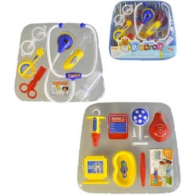 Souprava doktorská 27x24x8cm set dětské lékařské potřeby v kufříku