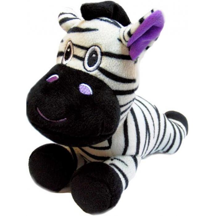 PLYŠ Zebra ležící 20cm PLYŠOVÉ HRAČKY