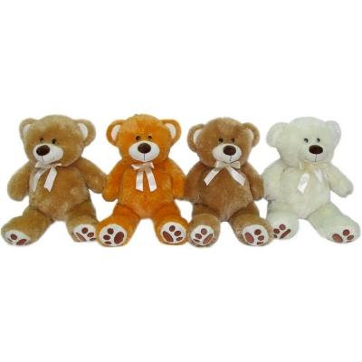 PLYŠ Medvídek s mašličkou 40cm 4 barvy PLYŠOVÉ HRAČKY