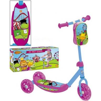 SEDCO Koloběžka dětská tříkolka Mondo First 3 kola fialová