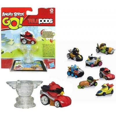HASBRO Angry Birds ABI GO figurka s autíčkem Pro mobilní aplikaci 6 druhů