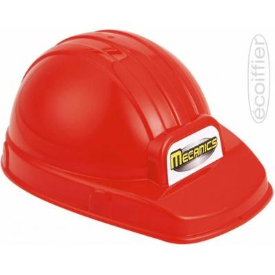 ECOIFFIER Baby helma dětská pracovní ochranná 24cm červená plast