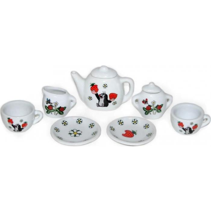 Dětská čajová souprava Krtek (krteček)