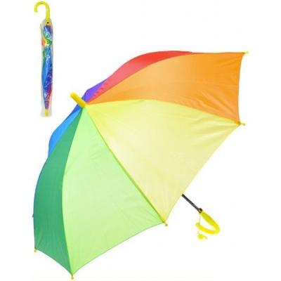 Deštník barevný 66cm v sáčku