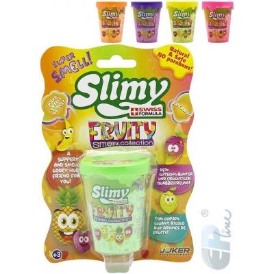 EP Line Slimy sliz prdící metalický voňavý 80g ovocný v kelímku 5 druhů na kartě