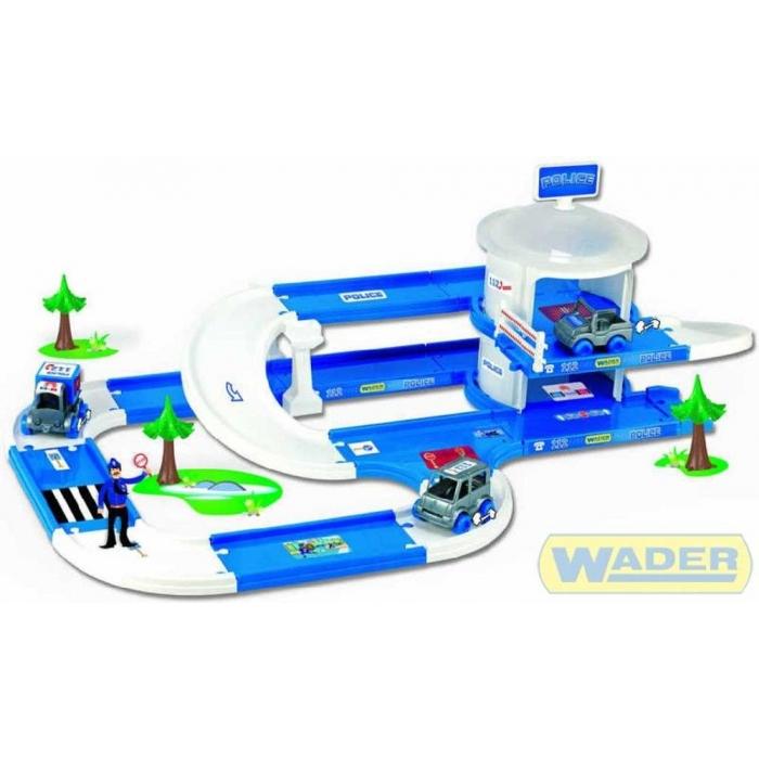 WADER Policejní stanice Kid cars 3D Policie