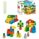WADER Middle Block baby kostky velké 70ks plast STAVEBNICE 41582