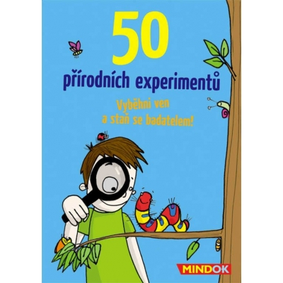 MINDOK HRA 50 Přírodních experimentů poznávání přírody