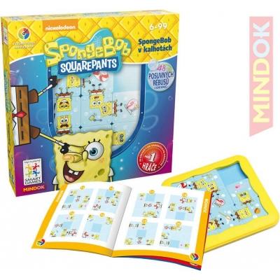 MINDOK HRA SMART Spongebob v kalhotách 48 rébusů