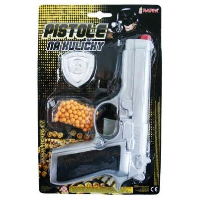 Pistole na kuličky KULIČKOVKA s odznakem
