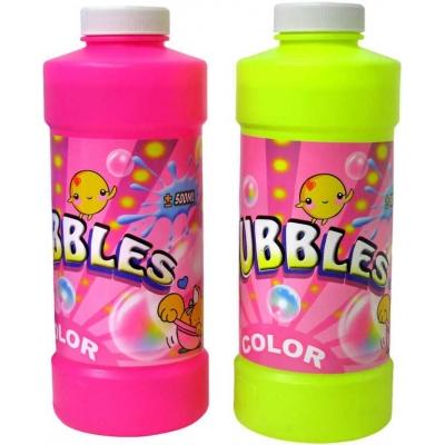 Náplň náhradní 500 ml do bublifuku plastová láhev 2 barvy