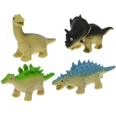 Dinosaurus strečový 13-17cm antistresový na mačkání různé druhy