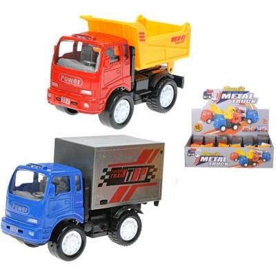 Auto nákladní 12cm kovové PB 2 druhy