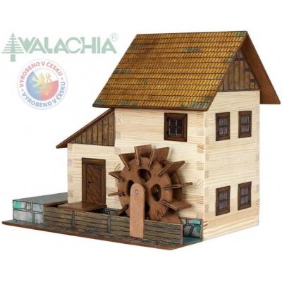 WALACHIA Vodní mlýn 33W16 dřevěná stavebnice