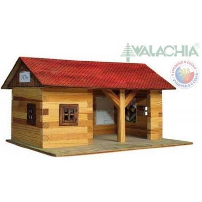 WALACHIA Železniční stanice 33W11dřevěná stavebnice