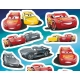 JIRI MODELS Samolepky dětské 500ks velký set s blokem Cars (Auta)
