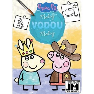JIRI MODELS Maluj vodou Peppa Pig a kamarádi omalovánky