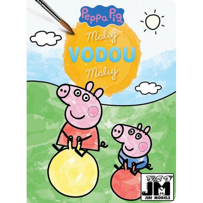 JIRI MODELS Maluj vodou Peppa Pig ve školce omalovánky