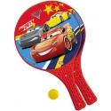 MONDO Tenis plážový Cars (Auta) set 2 rakety + soft míček