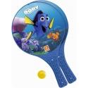 MONDO Tenis plážový Hledá se Dory (Finding Dory) set 2 rakety + soft míček