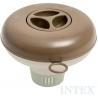 IINTEX Dávkovač chemický plovoucí hnědý plovák na chemické tablety 29042