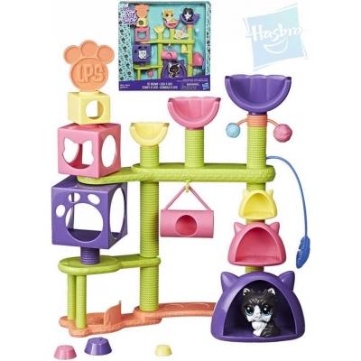 HASBRO LPS Littlest Pet Shop Domeček kočičí plast v krabici