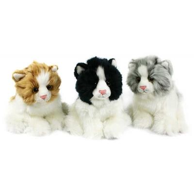 PLYŠ Kočka sedící 17 cm * PLYŠOVÉ HRAČKY *
