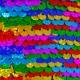 Panenka hadrová 45cm mořská panna šupinka látková třpytivá s flitry