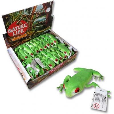 Žába gumová 11cm zelená rosnička